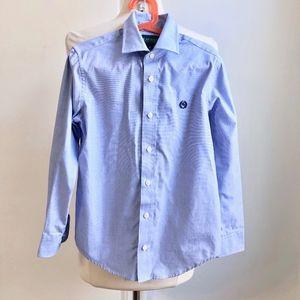 Ralph Lauren Blue Dress Shirt Little Boys 8 Small
